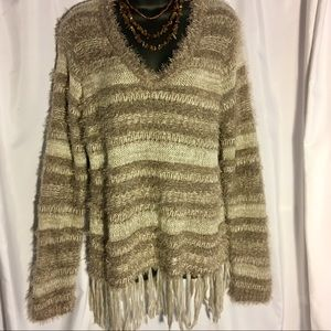 Knox Rose XXL Sweater with Tassel Detail